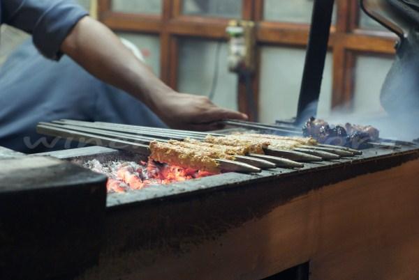 Kebabs at Karim's