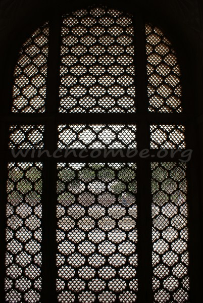 stone screens at Bibi-ka-Maqbara