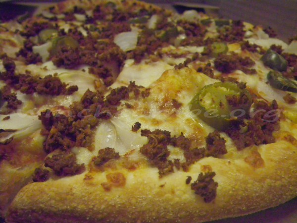 Keema Do Pyaaza Pizza
