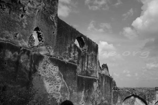 Golconda Fort wall