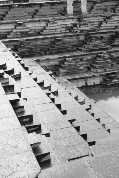 A step well in Hampi